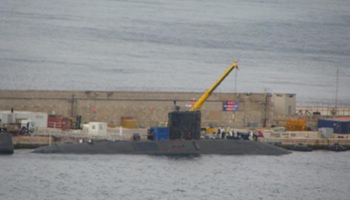 Imagen del submarino proporcionada por Verdemar