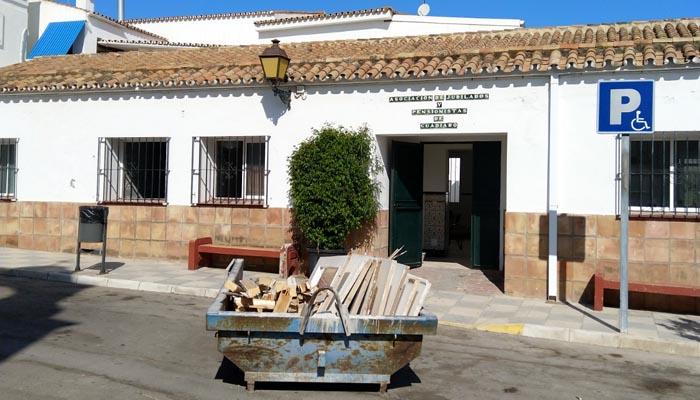 El hogar del pensionista de Guadiaro