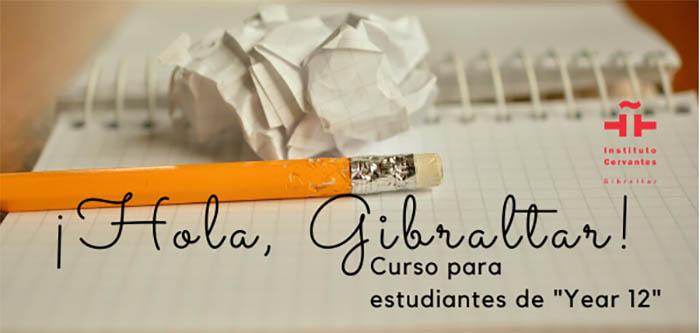 Imagen del curso programado por el Intsituto Cervantes para los jóvenes gibraltareños