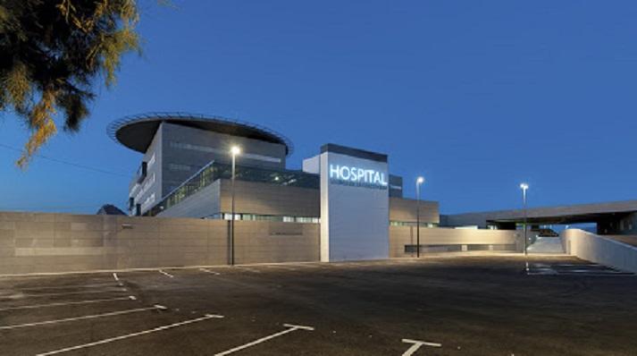 Una imagen del exterior del Hospital Comarcal de La Línea