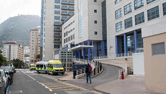 Hospital de Gibraltar. Sergio Rodríguez