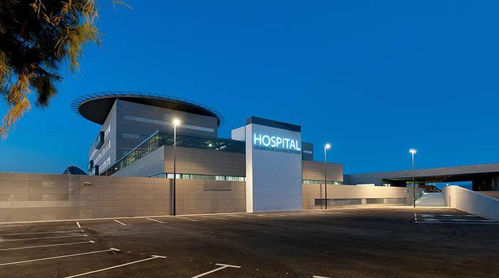 Imagen del Hospital de La Línea de la Concepción