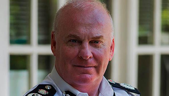 Imagen del que ha sido comisario en Gibraltar.