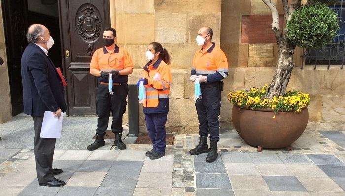 El Ayuntamiento de Algeciras dotará a toda la población de mascarillas
