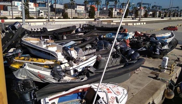 """El Gobierno externaliza la destrucción de """"narcolanchas"""" en Algeciras"""
