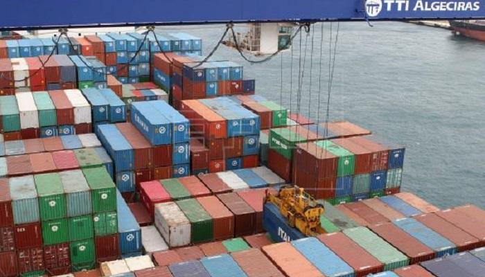 El Puerto de Algeciras cierra el primer trimestre con un nivel similar a 2019