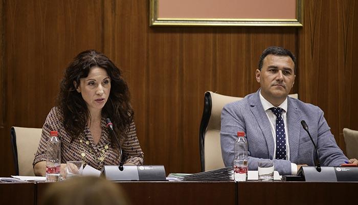 La consejera de Igualdad, Políticas Sociales y Conciliación de la Junta de Andalucía, Rocío Ruiz