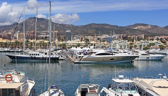 Imagen de uno de los puertos deportivos de Andalucía
