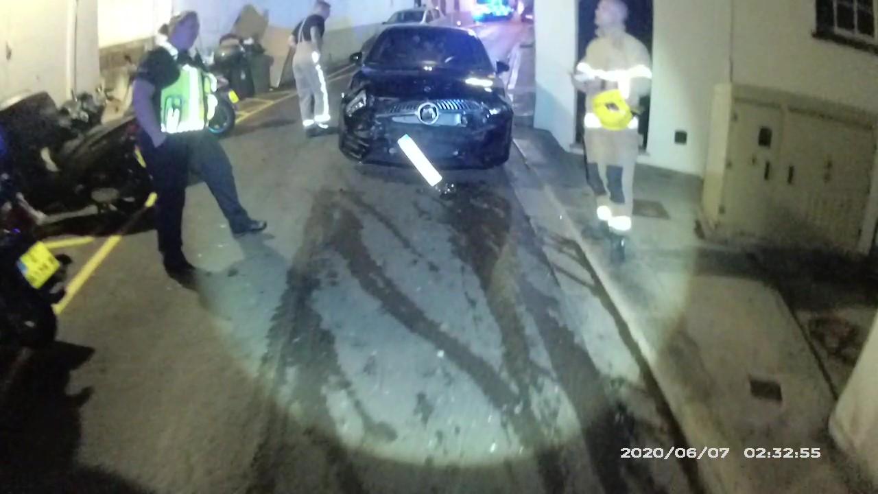 Estado en el que quedó el vehículo. Foto RGP