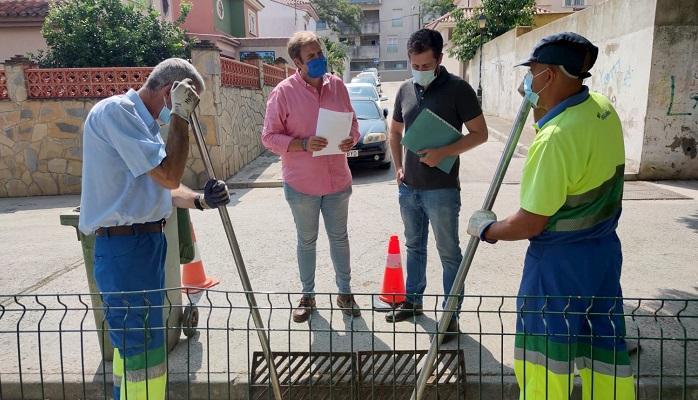 Emalgesa continúa con su limpieza de imbornales ante la llegada de lluvias