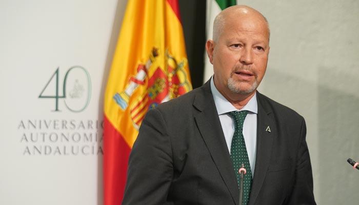 El consejero de Educación, Javier Imbroda