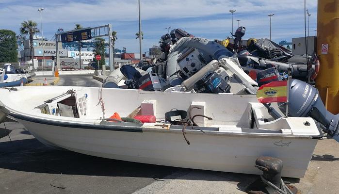 La Guardia Civil detiene a dos personas por transportar droga oculta en una embarcación de recreo
