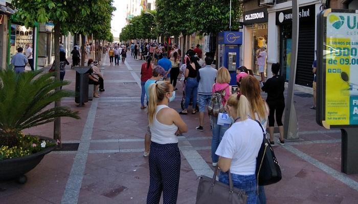 Adelante alerta sobre las colas en el servicio de Estadísticas en Algeciras