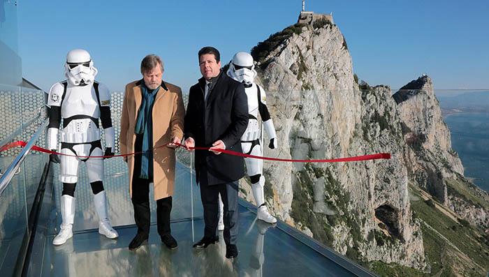 Inauguración del Skywalk. Foto InfoGibraltar