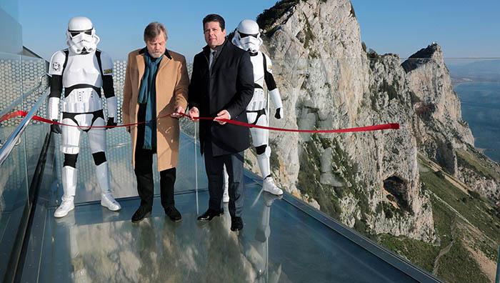 Inauguración oficial del Skywalk en marzo pasado