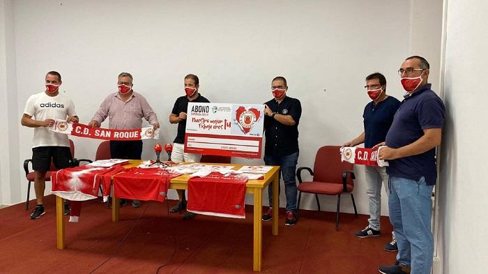 El San Roque abre su campaña de abonados con un carnet a 20 euros