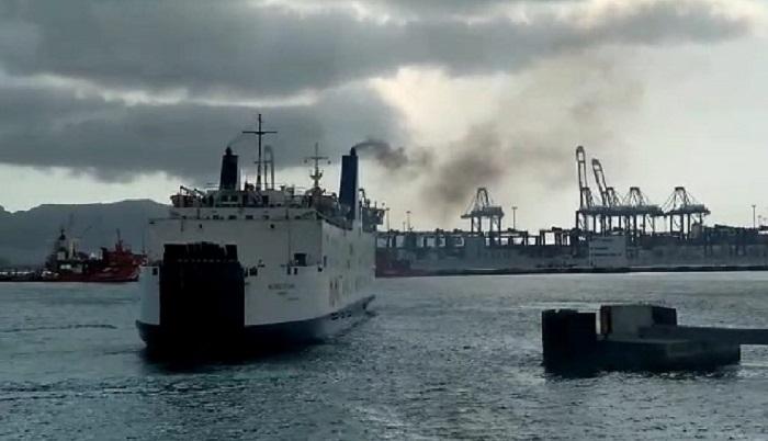 Verdemar lamenta la contaminación de ferrys en el Puerto de Algeciras