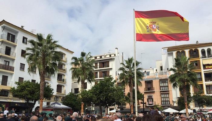 La Guardia Civil de Algeciras celebra los actos del Pilar en la Plaza Alta