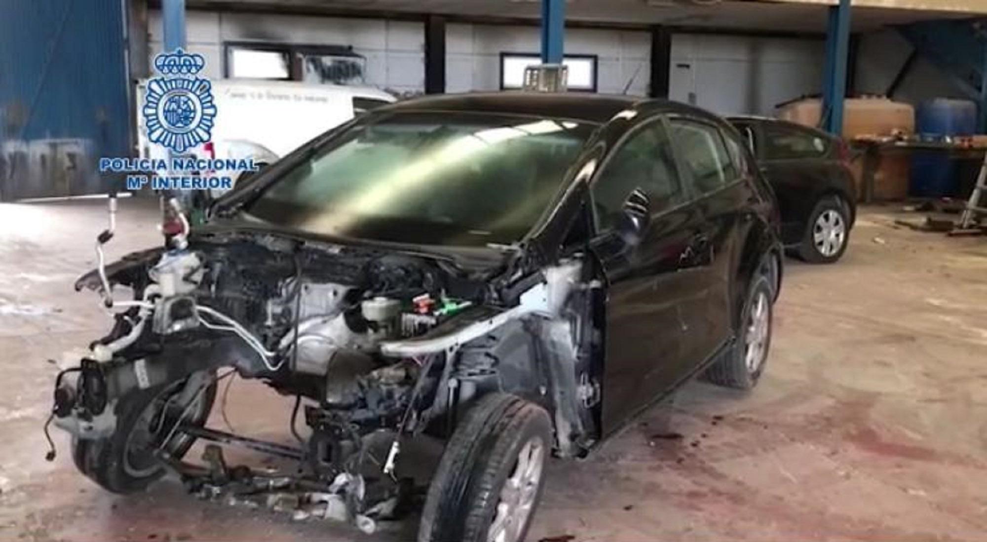 Detenido en Algeciras por una organización dedicada al robo de vehículos