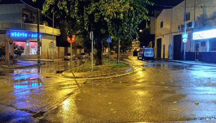 Las redes de pluviales, en buen estado tras las lluvias caídas en Algeciras