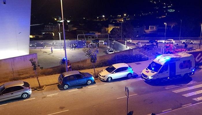 """Desalojan el C.C. """"Puerta Europa"""" de Algeciras a causa de un incendio"""