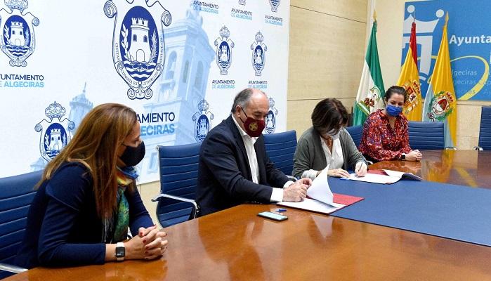El Ayuntamiento de Algeciras cede unos terrenos a la Asociación Autismo
