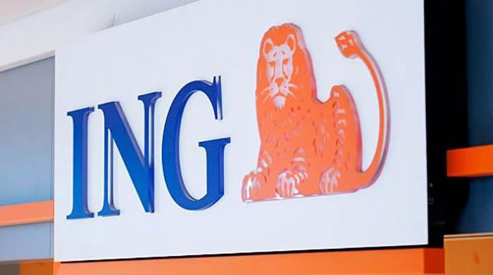 Imagen del banco holandés ING