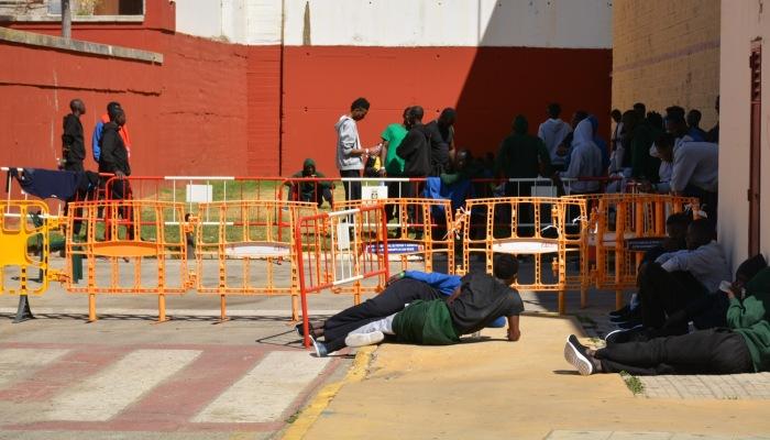 El pabellón de San Roque acogerá a los inmigrantes