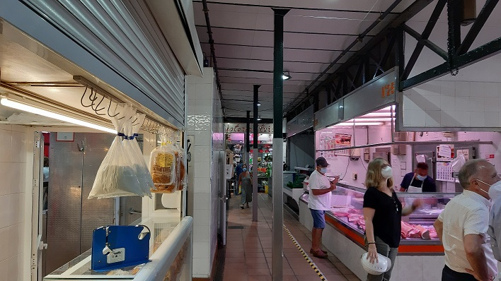 Interior del Mercado Municipal de La Línea