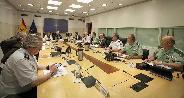 El ministro del Interior ha presidido la reunión del balance del Plan de Seguridad