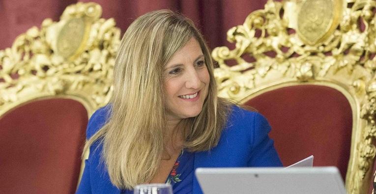 Irene García, secretaria general del PSOE de Cádiz