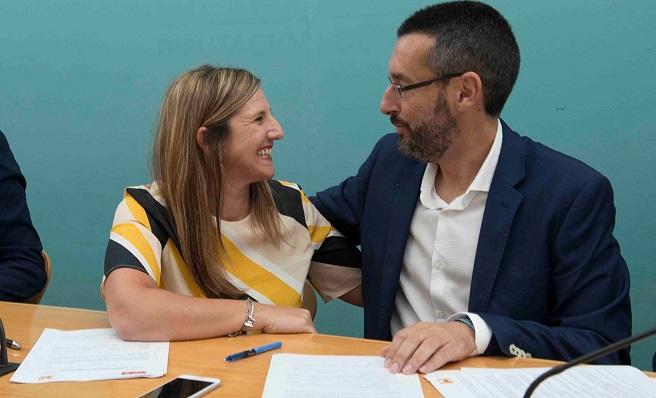 Irene García y Juan Franco, en una imagen de archivo. Foto: NG