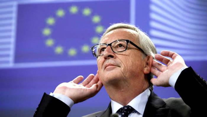 Jean Claude Juncker es el presidente de la Comisión Europea