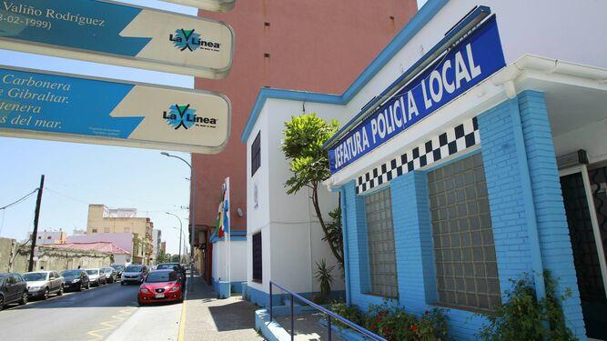 Jefatura de la Policía Local de La Línea. Foto: NG