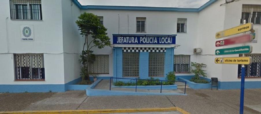 Fachada de la Jefatura de la Policía Local de La Línea