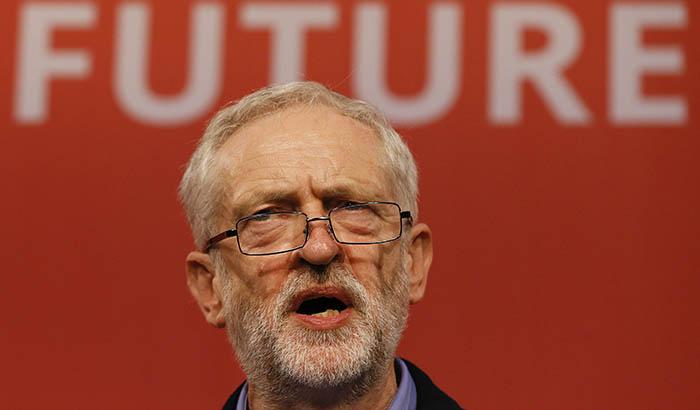 Jeremy Corbyn lider de la oposición Reino Unido