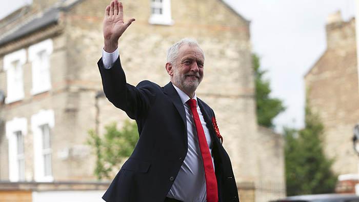 Jeremy Corbyn, líder del Partido Laborista de Reino Unido