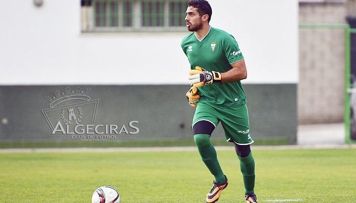 El meta Jesús Romero renueva con el Algeciras CF