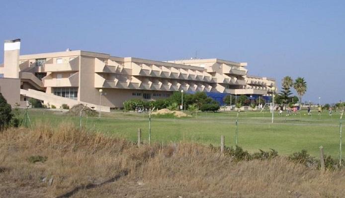 Imagen exterior de la Residencia Tiempo Libre de La Línea