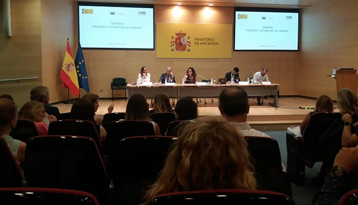 Un momento de la jornada sobre la EDUSI celebrada en Madrid