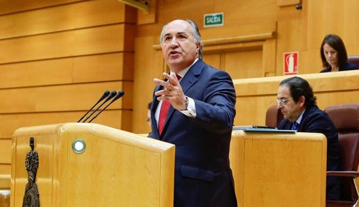 José Ignacio Landaluce, en una foto de archivo en el Senado