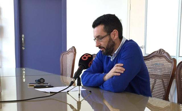 El alcalde de La Línea, Juan Franco, en imagen de archivo