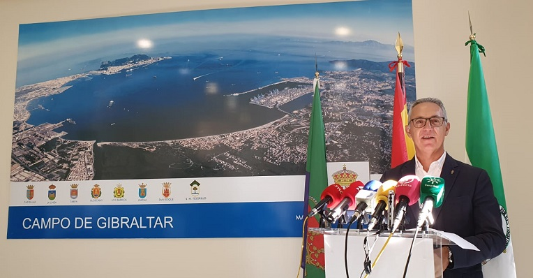 Juan Lozano, esta mañana en rueda de prensa. Foto: NG