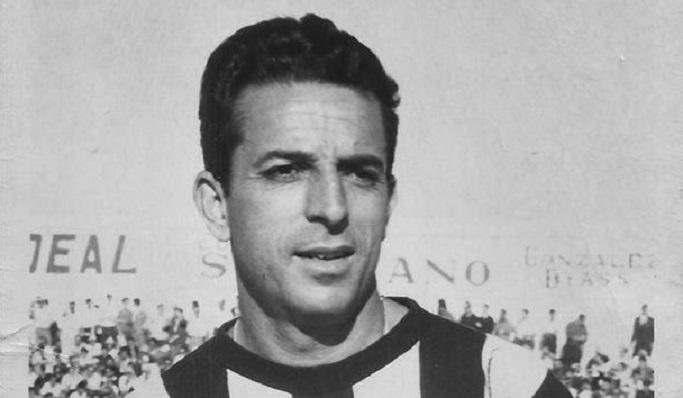 Juan Vázquez Toledo, en su etapa como jugador de la Balona