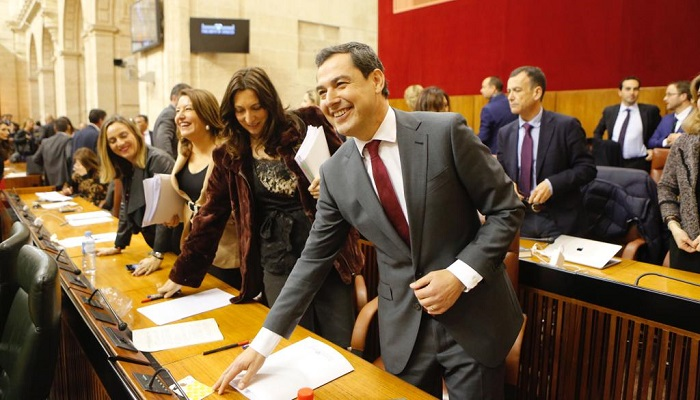 Juan Manuel Moreno Bonilla tomará posesión el próximo viernes