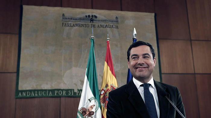 Juan Manuel Moreno, en imagen de archivo
