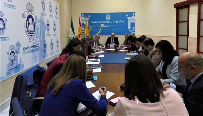 Imagen de la reunión de la Junta de Gobierno