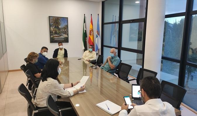 Reunión de la Junta de Gobierno en el Ayuntamiento de La Línea. Foto: lalínea.es