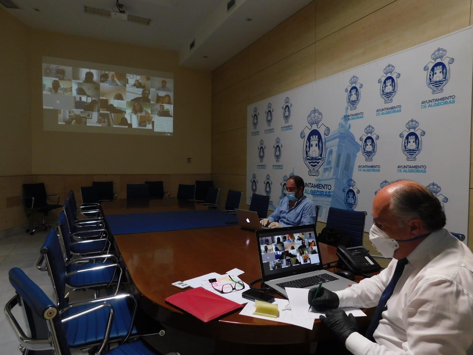 Algeciras acuerda crear una comisión dedicada a la lucha contra el Covid-19