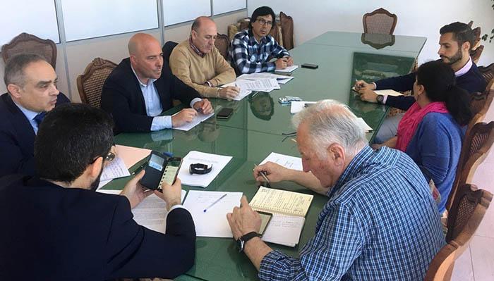 Junta de portavoces municipales del Ayuntamiento de La Línea